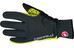 Castelli Spettacolo Gloves anthracite/yellow fluo